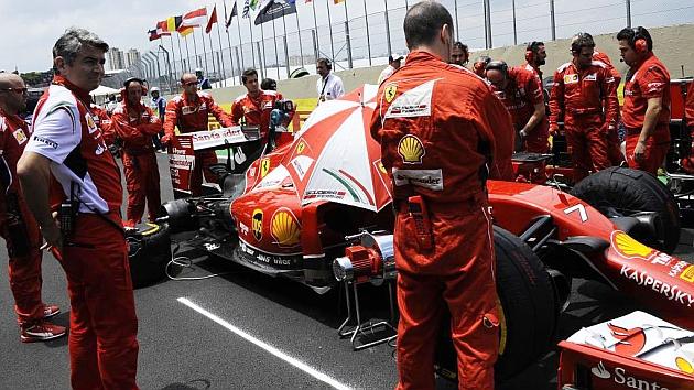 En Ferrari no queda ni el apuntador