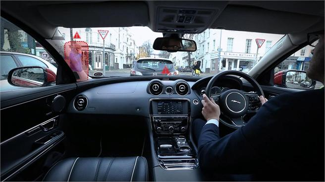 Jaguar 360 Virtual Urban Windscreen