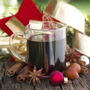 El vino caliente es un clásico navideño