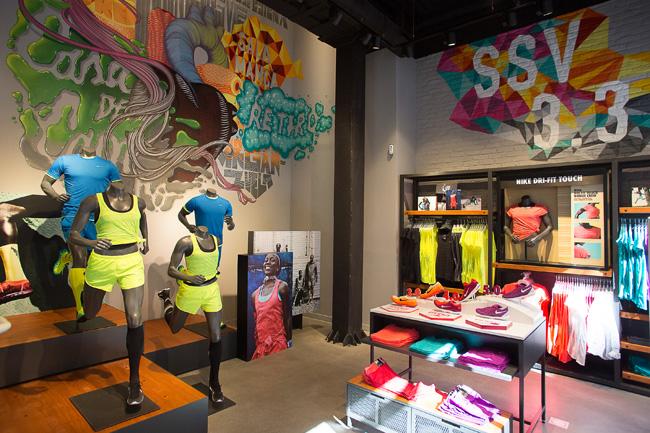 Nike store en Serrano despunta en el 2015